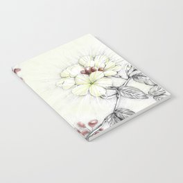 Pequi Flower Notebook