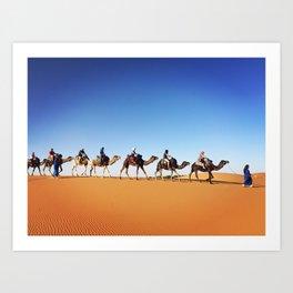 Sahara Magic Art Print