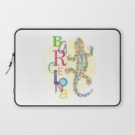 Barcelona City Lizard Laptop Sleeve