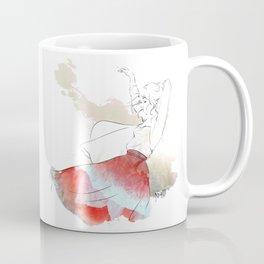 Dancing in the poppies Coffee Mug
