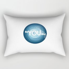 """Be-YOU-tiful"" Rectangular Pillow"