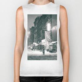 New York City - Night in the Winter - Lower East Side Biker Tank