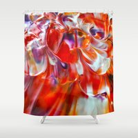 study Shower Curtains featuring Colour Study by Creative Lore