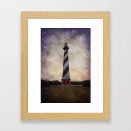 Cape Hatteras Lighthouse II Framed Art Print
