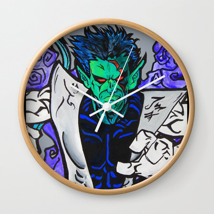 Nightcrawler Wall Clock