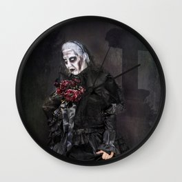 Black Widow - Halloween Wall Clock