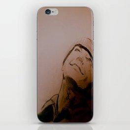 Jack Nicholson Graphite Original Portrait iPhone Skin