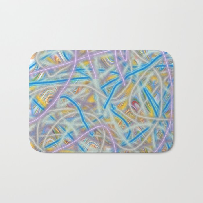 Satin Waves Bath Mat