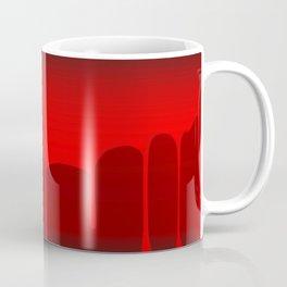 Blood Background Coffee Mug