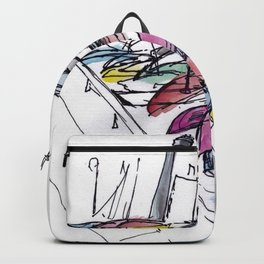 Harbourfront Boats Backpack