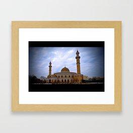 Islamic Cultural Center Framed Art Print