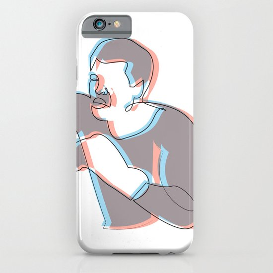 Boxing Ali (coulour) iPhone & iPod Case