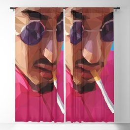 Pink Guy Blackout Curtain