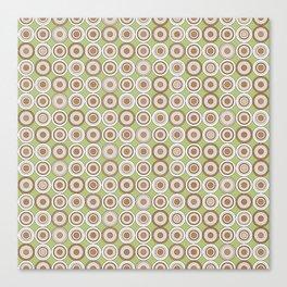 Retro Circle Series - C Canvas Print