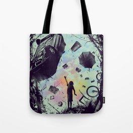 Gravity Play Tote Bag