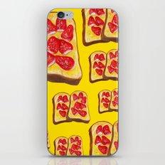Strawberry Toast iPhone & iPod Skin