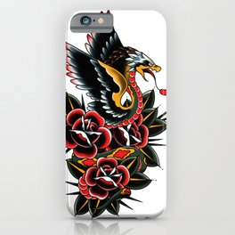 Eagle serpent iPhone Case