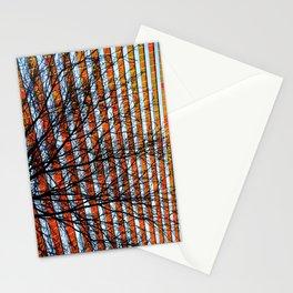 Stripe Resistance Stationery Cards
