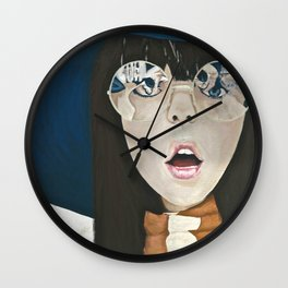 Psychedelic Visions Wall Clock