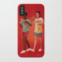 pulp iPhone & iPod Cases featuring Pulp Fiction by Dave Collinson