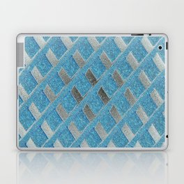 Blue Grill Abstract Laptop & iPad Skin