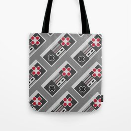 Retro Video Game Pattern Tote Bag