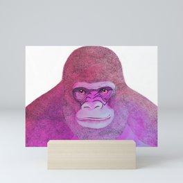 Mr Gorilla Mini Art Print