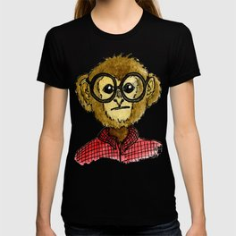 The Monkey with the Round Glasses T-shirt
