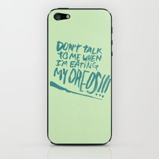 I'M SERIOUS ABOUT OREOS iPhone & iPod Skin