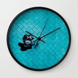 Stepping Forward Wall Clock