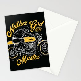 Neither God nor Master Stationery Cards