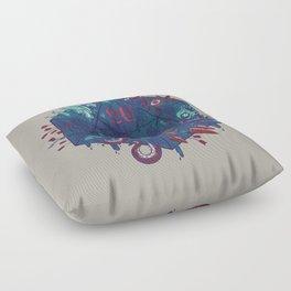 Die of Death Floor Pillow