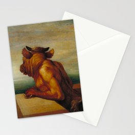 George Frederic Watts - The Minotaur Stationery Cards