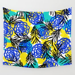 Vibrant day Wall Tapestry