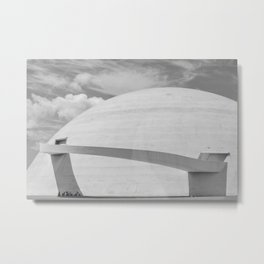 Niemeyer | architect | National Museum Metal Print