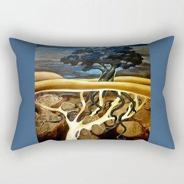 Sleep At Last Rectangular Pillow