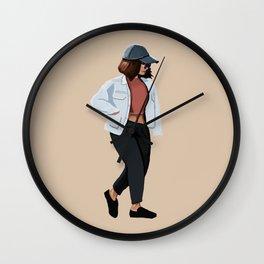 Fashion Jacket Wall Clock