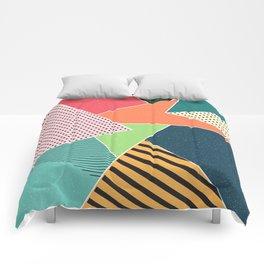 color segments 001 Comforters