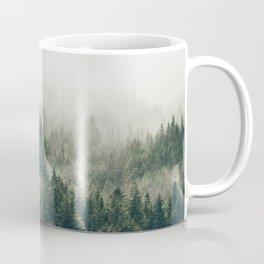 Foggy Mountain Side Coffee Mug