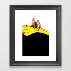 Vintage Heels Framed Art Print