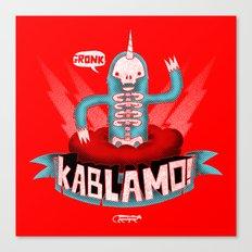 Kablamo! Canvas Print