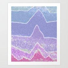 Amazing Peaks Art Print