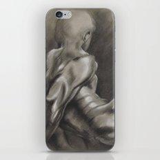 Nude Male Figure Study, Black and White.  iPhone & iPod Skin