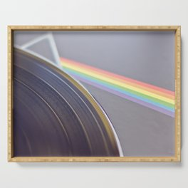 The Dark Side of the Moon - Photography #Society6 Serving Tray