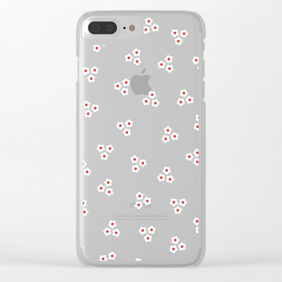 Night Daisies Clear iPhone Case