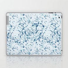 Splat Blues Laptop & iPad Skin