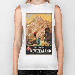 Vintage poster - New Zealand Biker Tank