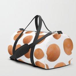 Orange Duo Duffle Bag