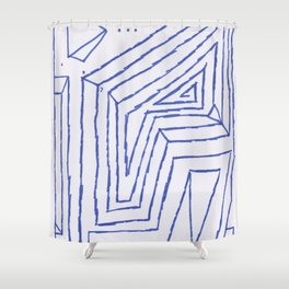 PowerLines 4 Shower Curtain