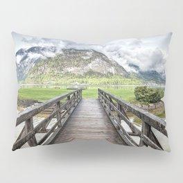 Hallstatt lake Pillow Sham
